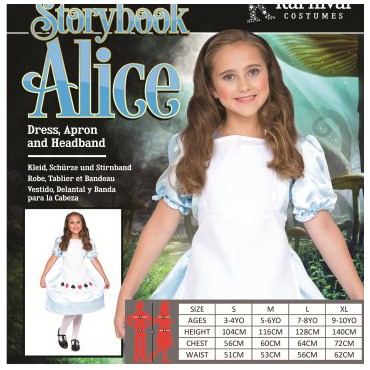 Costume Child Alice in...