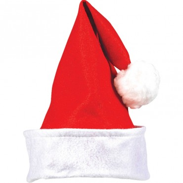 Santa Hat Red Fabric