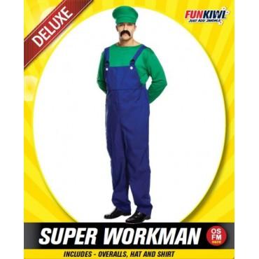 Costume Adult Luigi