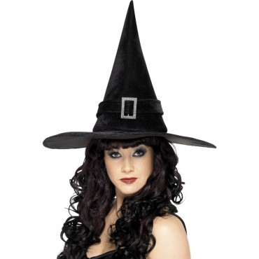 Witch Hat Adult Black...