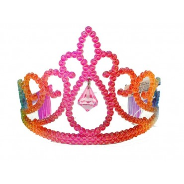 Tiara Rainbow Glitter With...