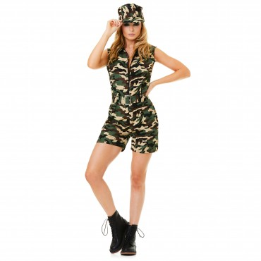 Costume Adult Army Camo...