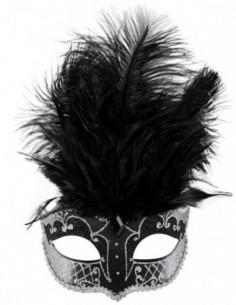 Mask Carmela Black & Silver...