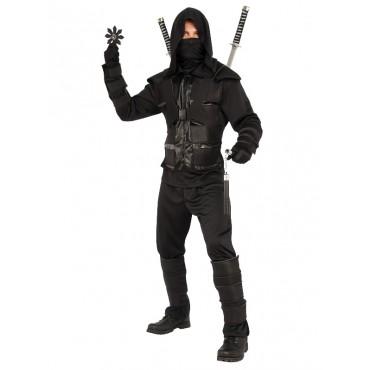 Costume Adult Ninja Black XL