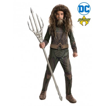 Costume Child Aquaman Deluxe S