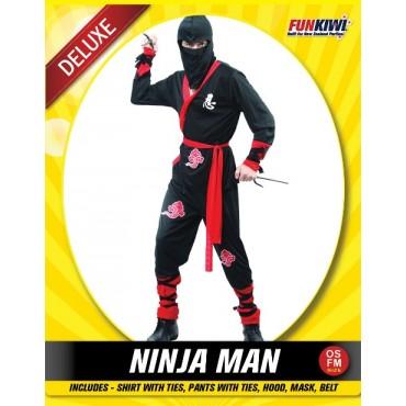 Costume Adult Ninja Man Robe