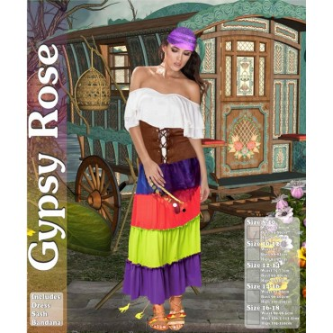 Costume Adult Gypsy Rose S...