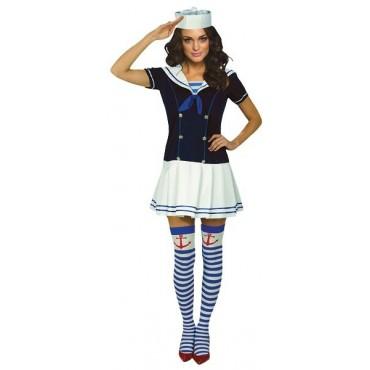 Costume Adult Sailor Girl...