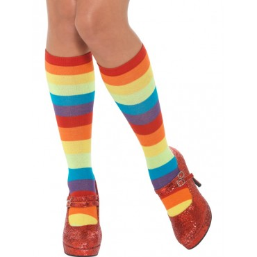 Socks Clown Rainbow