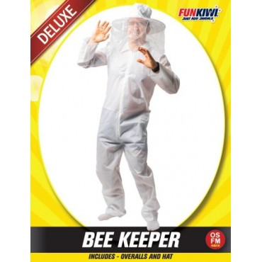 Costume Adult Bee Keeper White