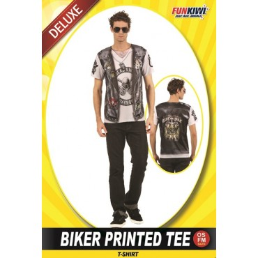 Costume Adult Biker T-Shirt