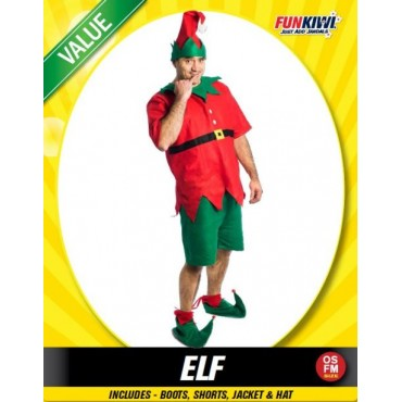 Costume Adult Elf Man
