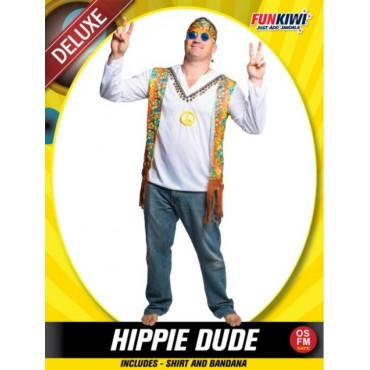Costume Adult Hippie Dude