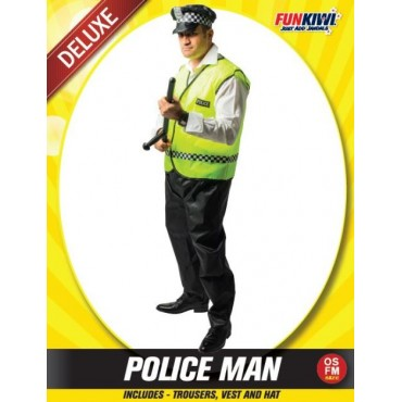 Costume Adult Police Man...