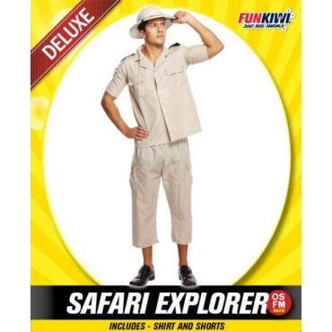 Costume Adult Safair Explorer