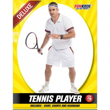 Costume Adult Tennis Player