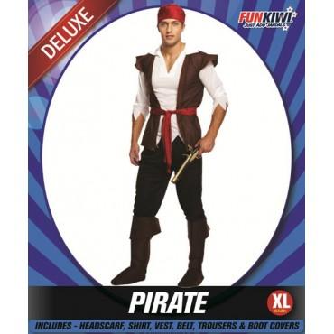 Costume Adult Pirate Man XL