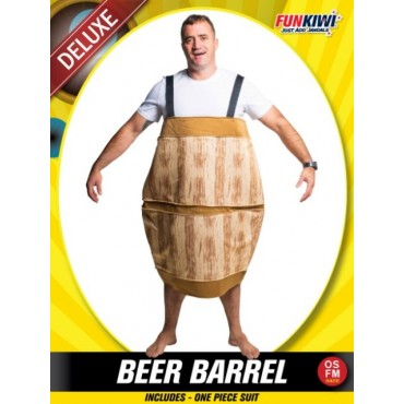 Costume Adult Beer Barrel