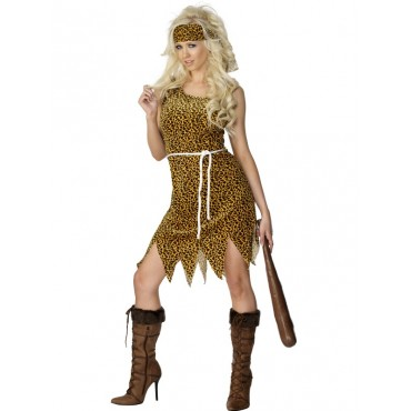Costume Adult Cavewoman M