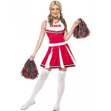 Costume Adult Cheer Leader L