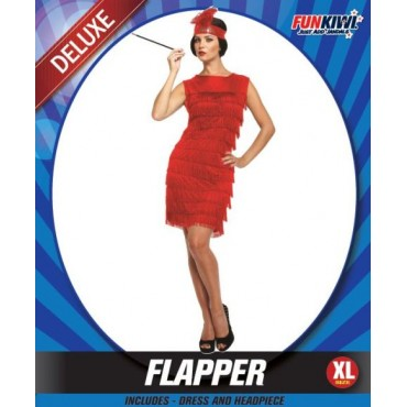 Costume Adult Flapper Dress...