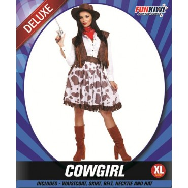 Costume Adult Cowgirl XL