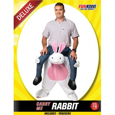 Costume Adult Carry Me Rabbit