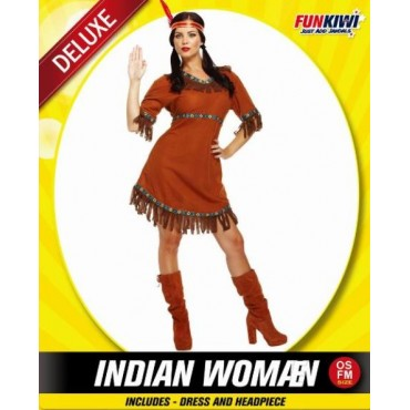 Costume Adult Indian Woman