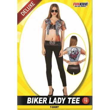 Costume Adult Biker Lady...