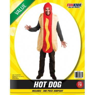 Costume Adult Hot Dog