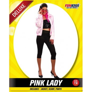 Costume Adult Grease Pink Lady