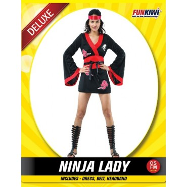 Costume Adult Ninja Girl