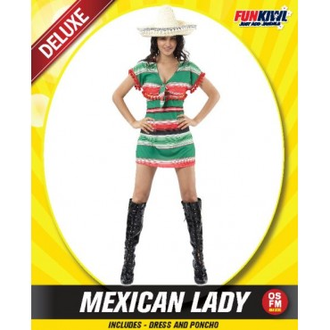 Costume Adult Mexican Dress...