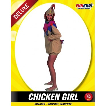 Costume Adult Chicken Lady