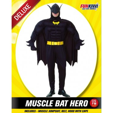 Costume Adult Batman Hero...