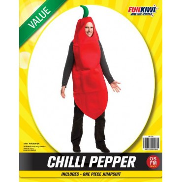 Costume Adult Chilli Pepper...