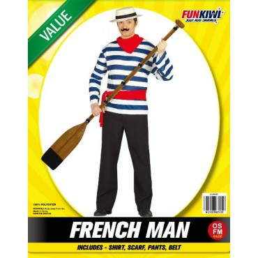 Costume Adult French Man