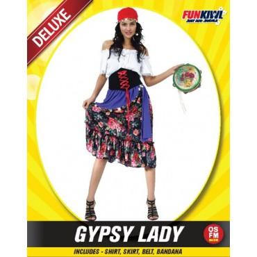 Costume Adult Gypsy Lady