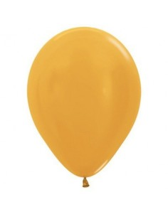 Balloons 30cm Metallic Gold