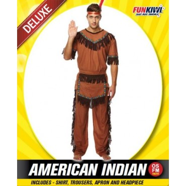 Costume Adult Indian Man