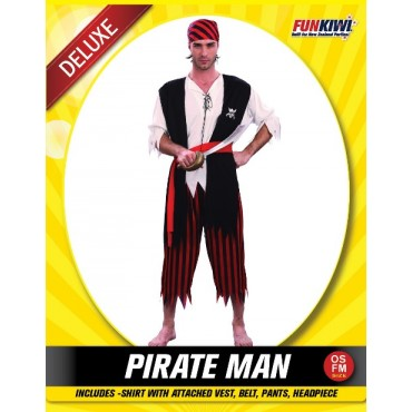Costume Adult Pirate Man