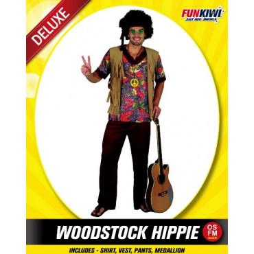 Costume Adult Hippie Woodstock