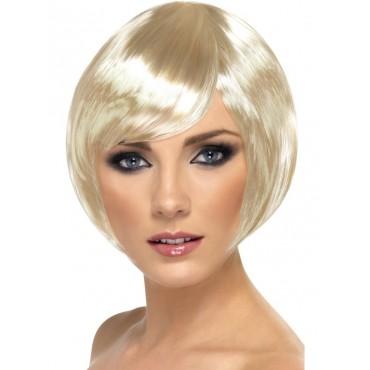 Wig Bob Blonde with Fringe