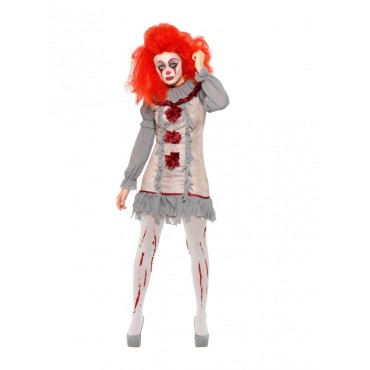 Costume Adult Clown Vintage...
