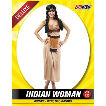 Costume Adult Indian Woman...
