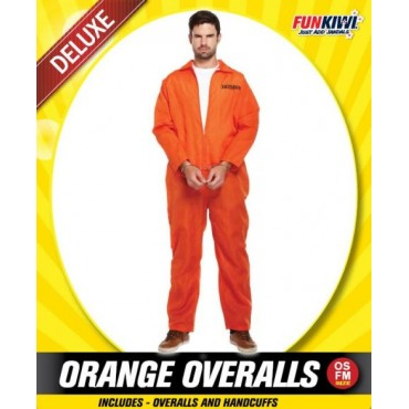 Costume Adult Prisoner Orange
