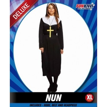 Costume Adult Nun XL