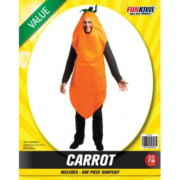 Costume Adult Carrot