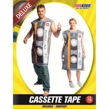 Costume Adult Cassette Tape