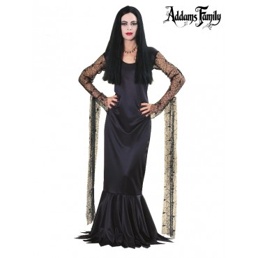 Costume Adult Adams Morticia M